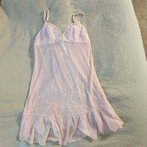 VS Light pink lingerie